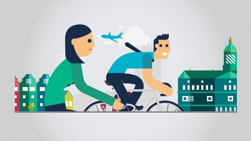 Nederlandse TaalUnie fietsen