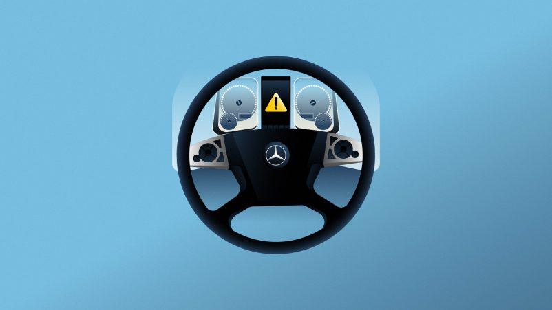 Mercedes-Benz Uptime Still Stuur