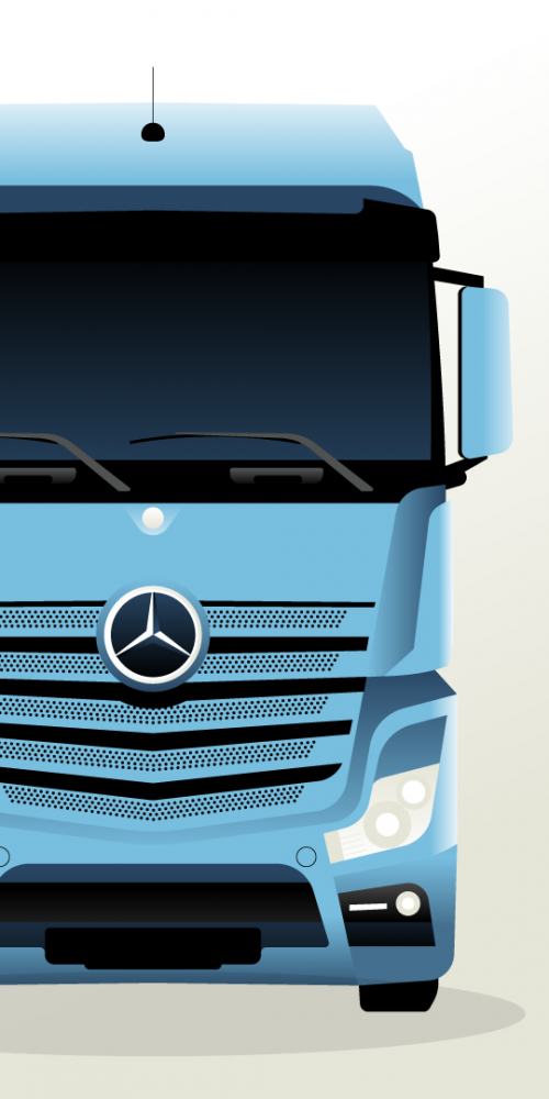 Mercedes-Benz Uptime animatie video