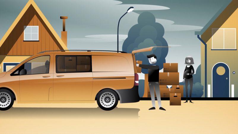 Mercedes-Benz Rent Vito Verhuizen