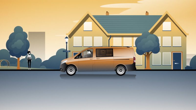 Mercedes-Benz Rent Vito Woonwijk